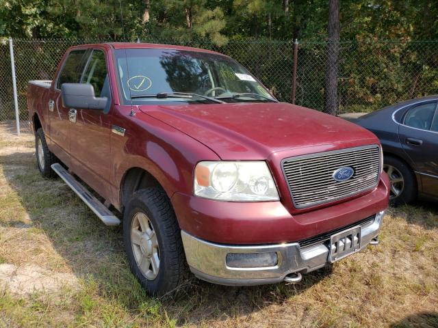 Salvage cars for sale from Copart Windsor, NJ: 2004 Ford F150 Super