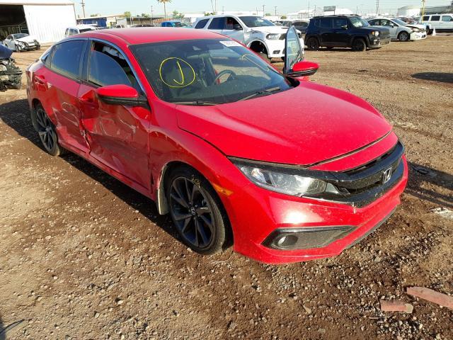 Salvage cars for sale from Copart Phoenix, AZ: 2021 Honda Civic Sport
