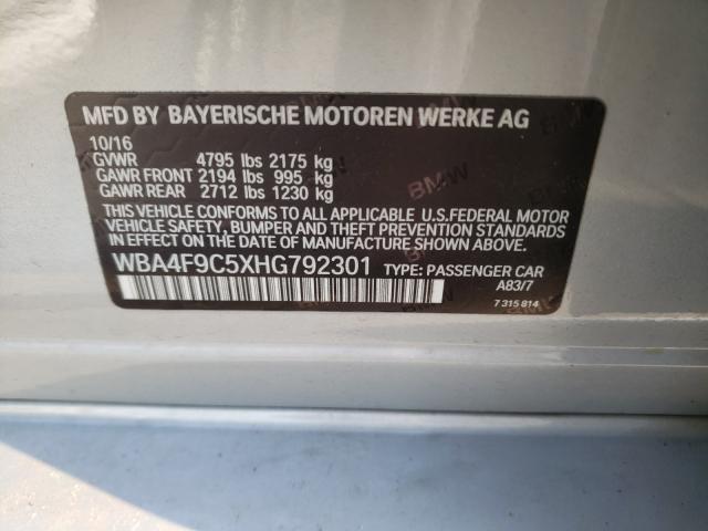 WBA4F9C5XHG792301