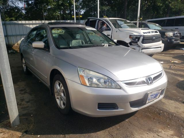 Salvage cars for sale from Copart Austell, GA: 2007 Honda Accord EX