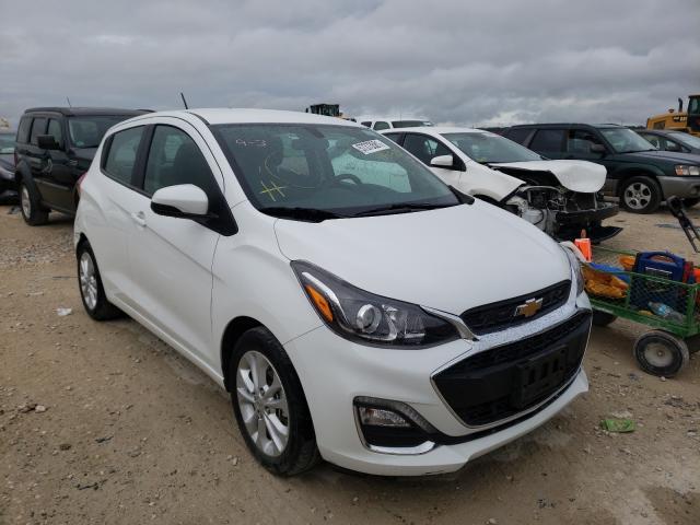 Chevrolet Spark 1LT salvage cars for sale: 2020 Chevrolet Spark 1LT