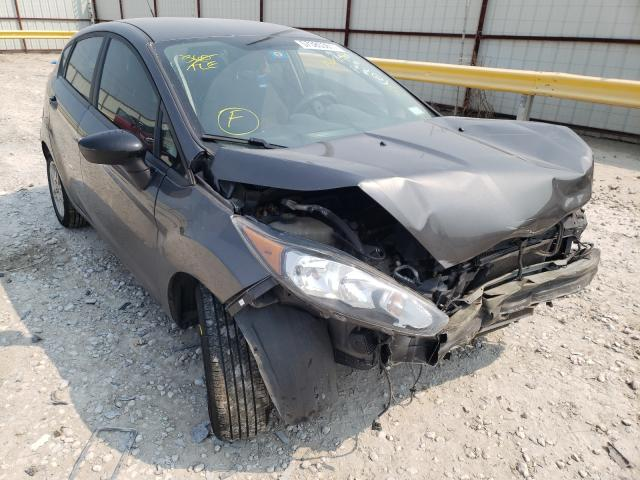 Salvage cars for sale from Copart Haslet, TX: 2018 Ford Fiesta SE