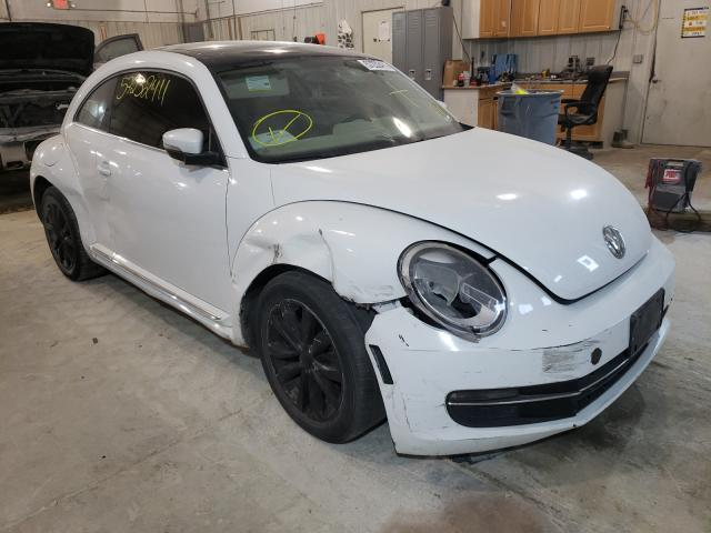 Salvage cars for sale from Copart Columbia, MO: 2015 Volkswagen Beetle TDI