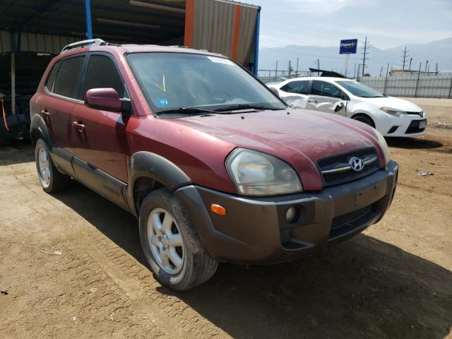 Salvage cars for sale from Copart Colorado Springs, CO: 2005 Hyundai Tucson GLS