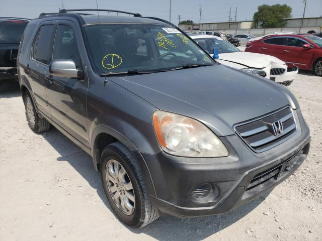 Salvage cars for sale from Copart Haslet, TX: 2006 Honda CR-V EX