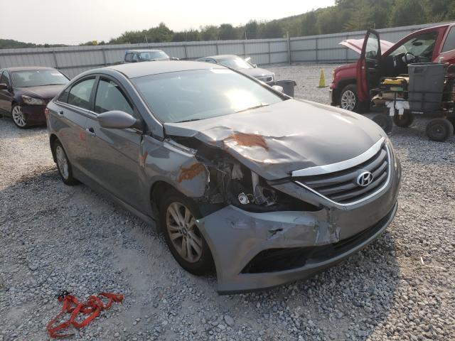 Salvage cars for sale from Copart Prairie Grove, AR: 2014 Hyundai Sonata GLS