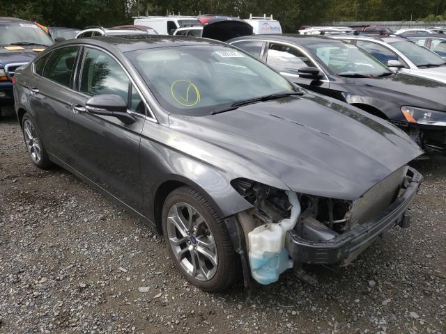 Vehiculos salvage en venta de Copart Arlington, WA: 2020 Ford Fusion Titanium