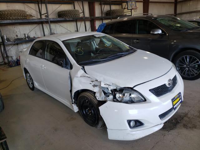 Salvage cars for sale from Copart Eldridge, IA: 2010 Toyota Corolla BA