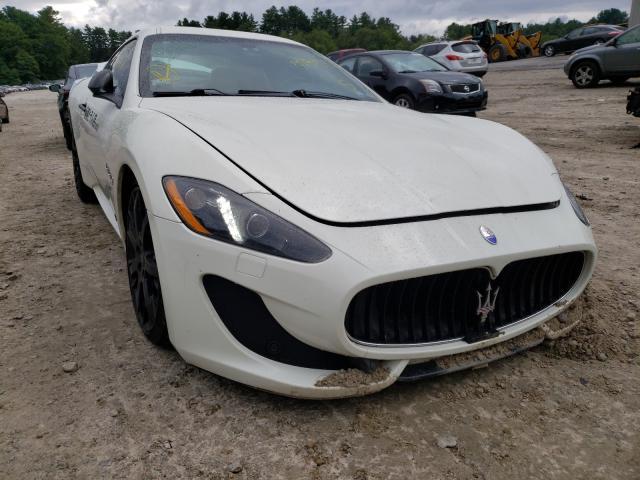 Maserati Granturismo salvage cars for sale: 2016 Maserati Granturismo