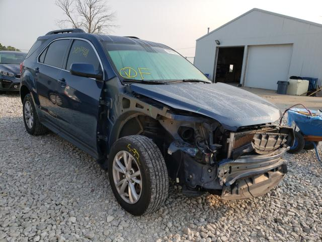 Salvage cars for sale from Copart Cicero, IN: 2016 Chevrolet Equinox LT