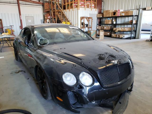 Bentley salvage cars for sale: 2010 Bentley Continental