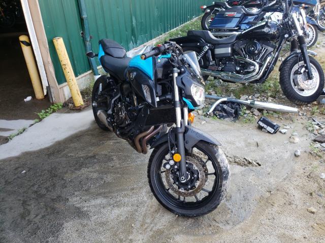 Yamaha MT07 salvage cars for sale: 2019 Yamaha MT07