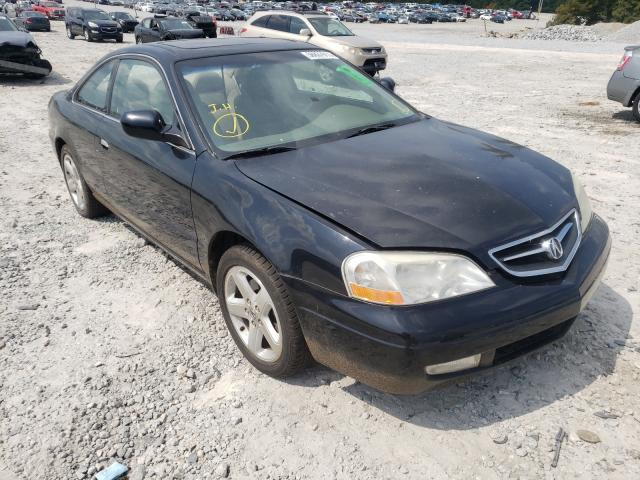 Acura salvage cars for sale: 2001 Acura 3.2CL Type