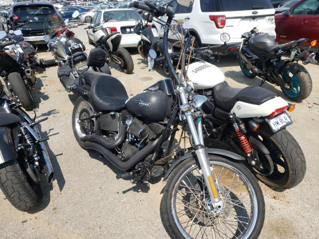 Salvage motorcycles for sale at Bridgeton, MO auction: 2008 Harley-Davidson Fxstb