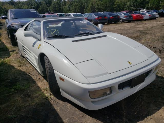 Ferrari salvage cars for sale: 1990 Ferrari 348 TS