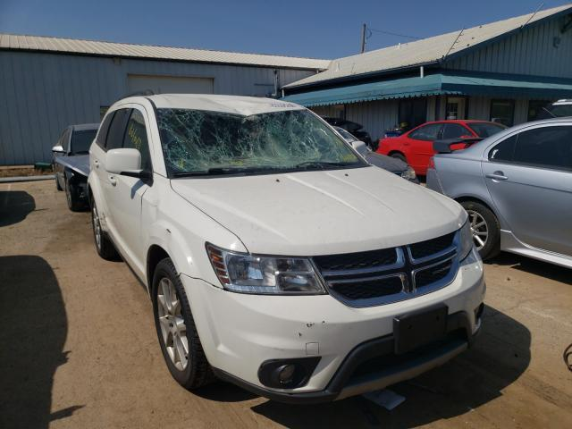 Salvage cars for sale from Copart Pekin, IL: 2015 Dodge Journey SX