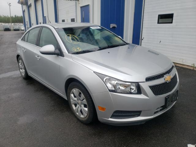 Salvage cars for sale at Moncton, NB auction: 2013 Chevrolet Cruze LT