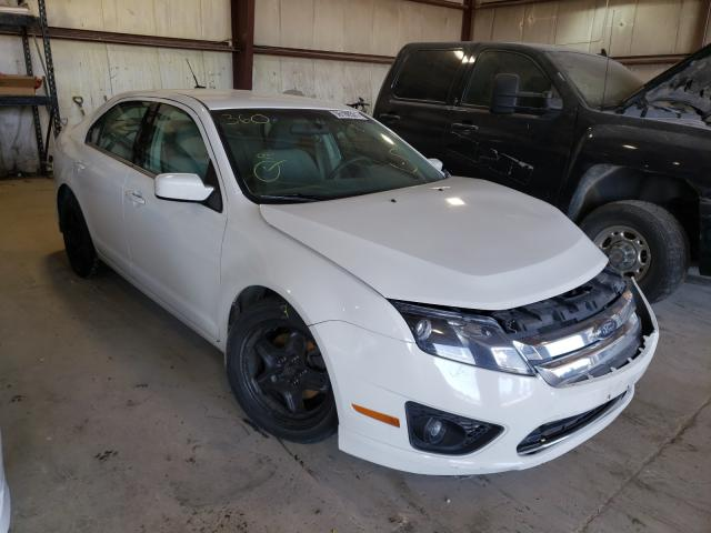 Salvage cars for sale at Eldridge, IA auction: 2010 Ford Fusion