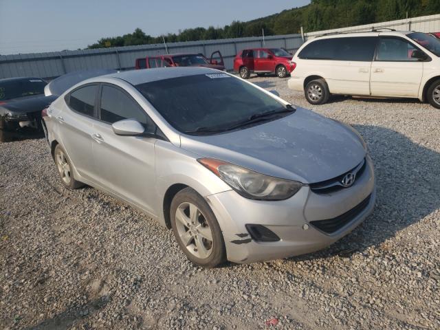Salvage cars for sale from Copart Prairie Grove, AR: 2013 Hyundai Elantra GL