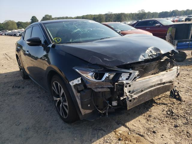 Salvage cars for sale at Conway, AR auction: 2018 Nissan Maxima 3.5