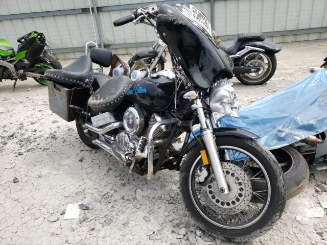 Salvage motorcycles for sale at Montgomery, AL auction: 2001 Yamaha XVS1100