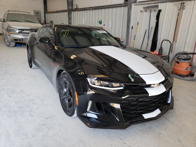 Salvage cars for sale from Copart New Braunfels, TX: 2018 Chevrolet Camaro LT