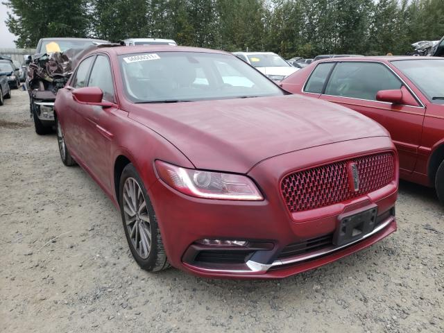 Lincoln Continental salvage cars for sale: 2017 Lincoln Continental