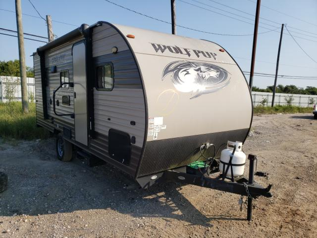 Forest River Wolf Pack salvage cars for sale: 2017 Forest River Wolf Pack