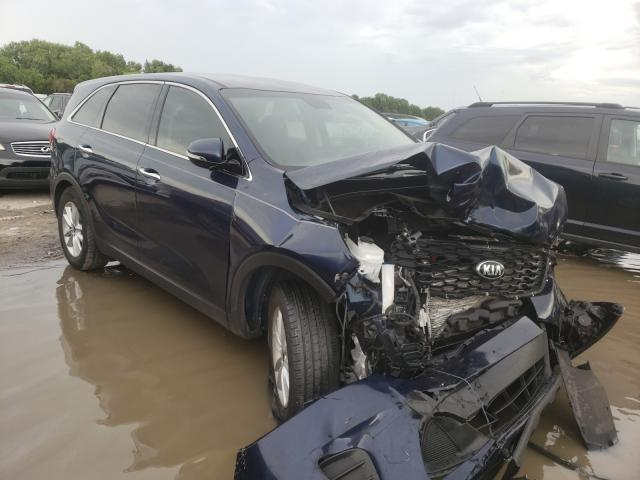 Salvage cars for sale from Copart Riverview, FL: 2019 KIA Sorento L