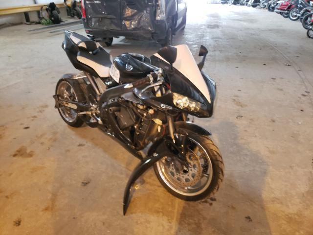 Salvage motorcycles for sale at Graham, WA auction: 2005 Yamaha YZFR1