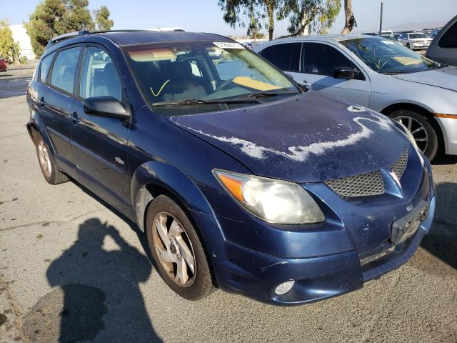 Salvage cars for sale from Copart Martinez, CA: 2003 Pontiac Vibe