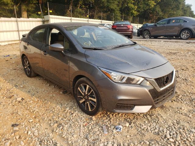 Salvage cars for sale from Copart Austell, GA: 2021 Nissan Versa SV