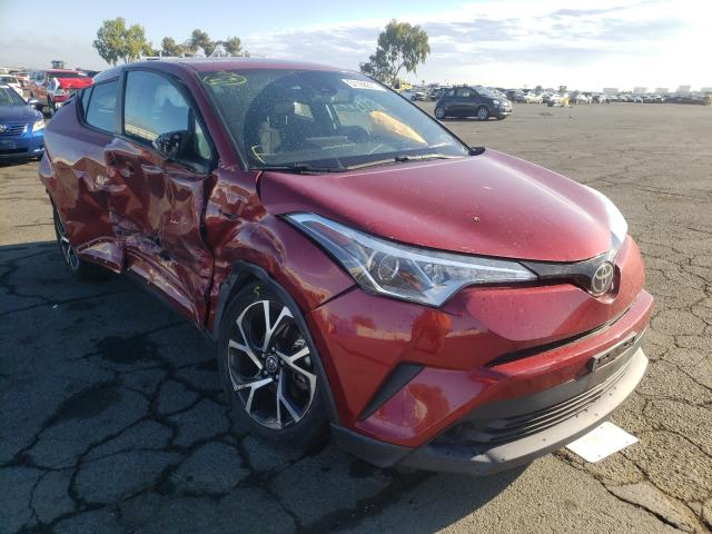 Vehiculos salvage en venta de Copart Martinez, CA: 2018 Toyota C-HR XLE