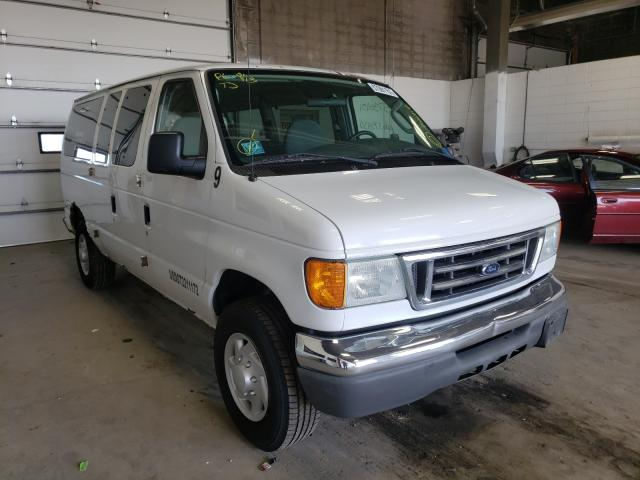 Salvage cars for sale from Copart Blaine, MN: 2006 Ford Econoline