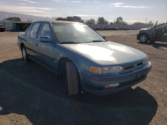 Salvage cars for sale from Copart San Martin, CA: 1991 Honda Accord EX