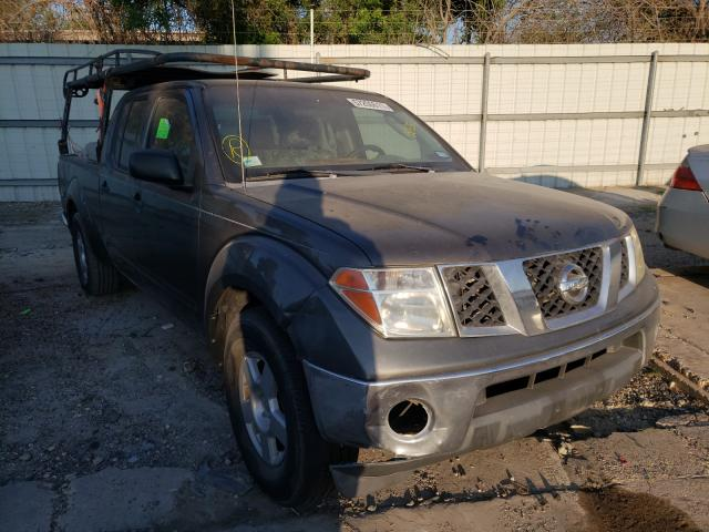 Salvage cars for sale from Copart Corpus Christi, TX: 2007 Nissan Frontier C
