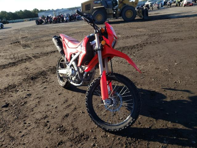 Upcoming salvage motorcycles for sale at auction: 2019 Honda CRF250 L