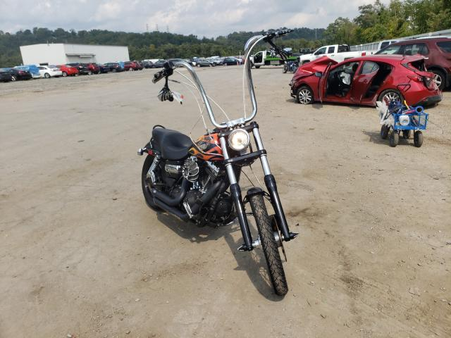 Salvage cars for sale from Copart West Mifflin, PA: 2015 Harley-Davidson Fxdwg Dyna