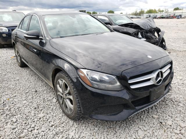 Salvage cars for sale from Copart Appleton, WI: 2015 Mercedes-Benz C 300 4matic
