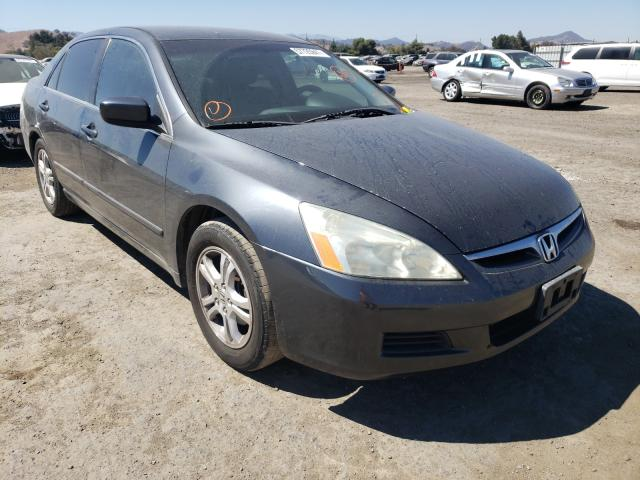 Salvage cars for sale from Copart San Martin, CA: 2007 Honda Accord SE
