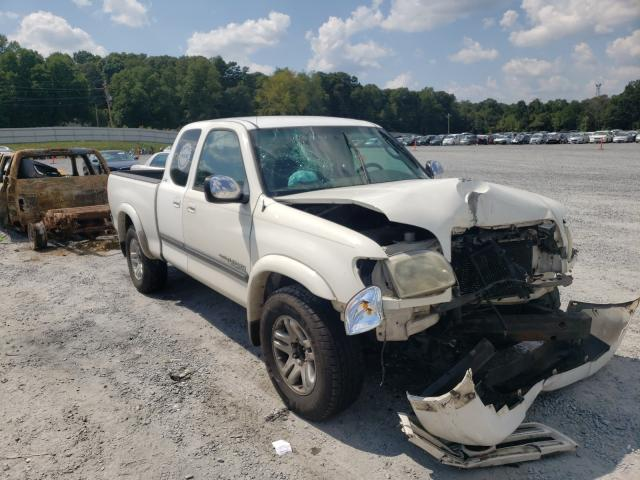 Salvage trucks for sale at Gastonia, NC auction: 2006 Toyota Tundra ACC