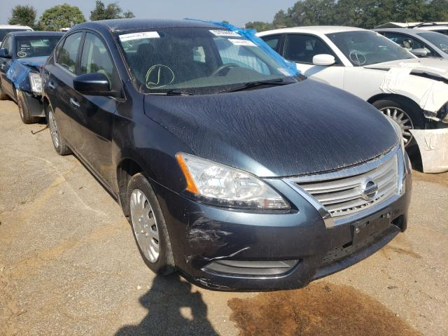 Salvage cars for sale from Copart Austell, GA: 2014 Nissan Sentra S