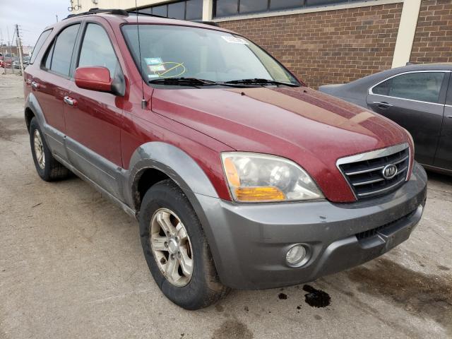 Vehiculos salvage en venta de Copart Wheeling, IL: 2007 KIA Sorento EX