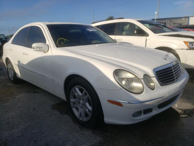 Salvage cars for sale from Copart Riverview, FL: 2006 Mercedes-Benz E 320 CDI
