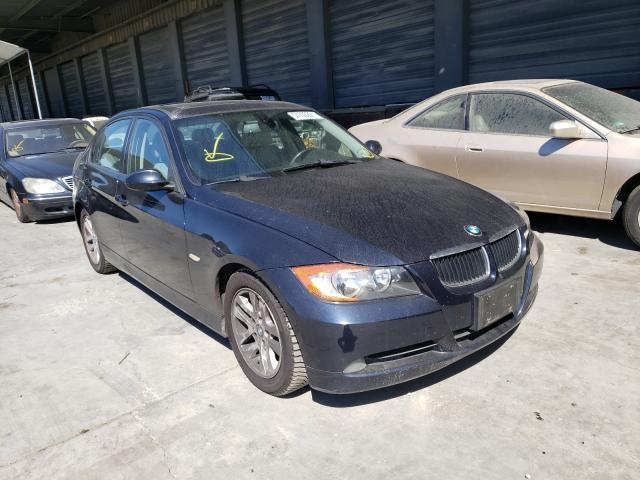BMW 3 Series salvage cars for sale: 2007 BMW 3 Series