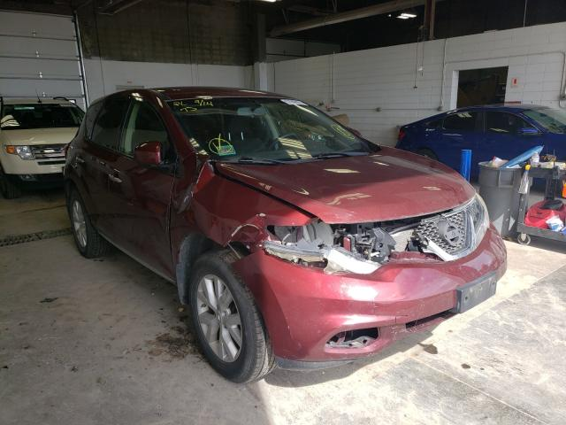 Salvage cars for sale from Copart Blaine, MN: 2012 Nissan Murano S