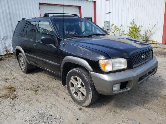 Salvage cars for sale from Copart Lyman, ME: 2001 Nissan Pathfinder