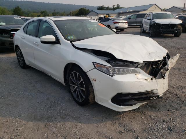 Salvage cars for sale from Copart Grantville, PA: 2017 Acura TLX