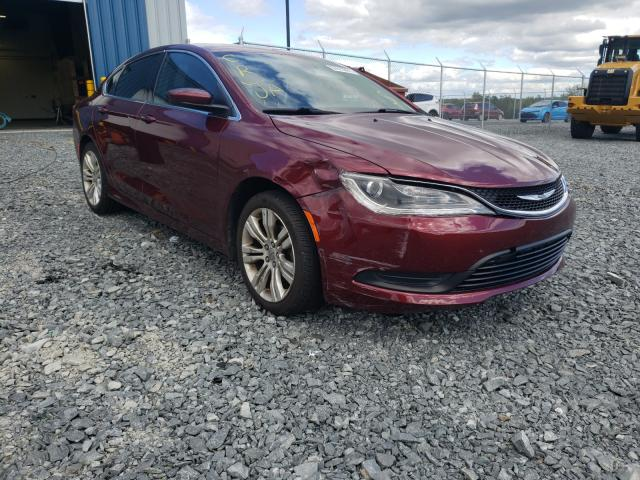 Salvage cars for sale from Copart Cow Bay, NS: 2015 Chrysler 200 LX