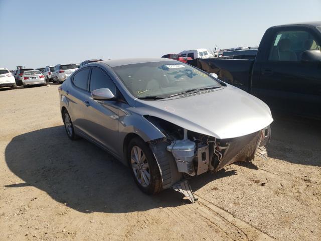 Salvage cars for sale from Copart Amarillo, TX: 2015 Hyundai Elantra SE
